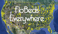 FloBeds Sold across America in 2008