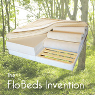FloBeds invents the organic natural mattress you can change