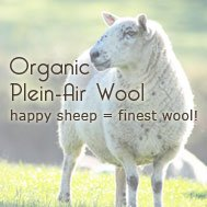 Organic Wool from Happy Flo Sheep