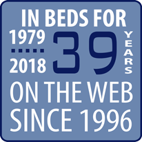 In Businsess for 37 years... Selling Latex Mattresses for 20 years on the web