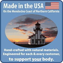 Made in USA on the Mendocino Coast of Northern California