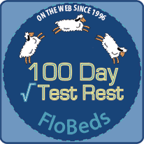 100 Day Test Rest on every Latex Mattress