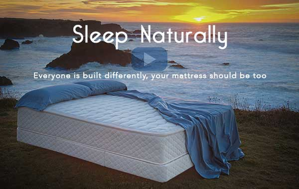 latex mattress organic cotton & wool sunset